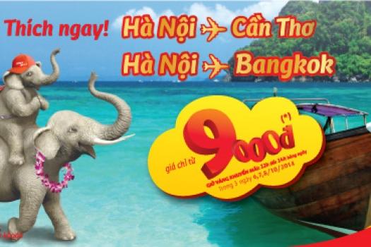 Bay là Thích ngay Hà Nội – Cần Thơ & Hà Nội - Bangkok